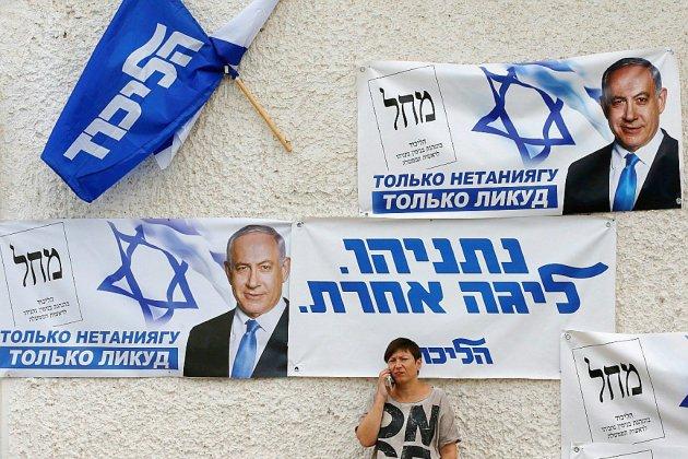 """Israël: dernier tour de micro pour les candidats avant le """"référendum"""" sur Netanyahu"""