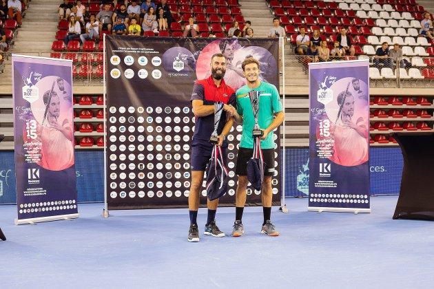 Tennis : l'Espagnol Carreno Busta sacré à l'Open de Rouen 2019