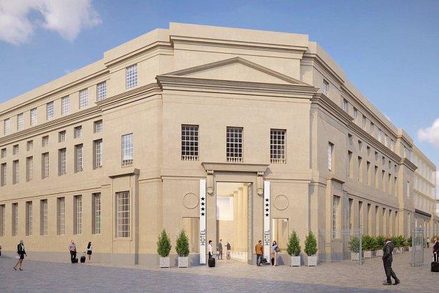 Caen : l'ancien palais de justice deviendra un hôtel quatre étoiles