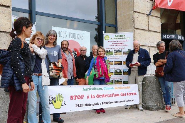 Rouen. Métropole de Rouen : 1020 ha de terres menacées par l'urbanisation