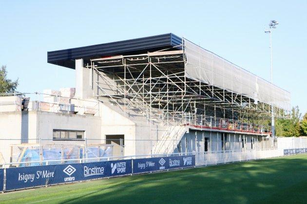 SM Caen : bientôt une nouvelle tribune sur le complexe d'entraînement