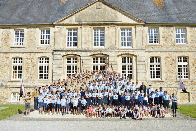 Les Guides et Scouts d'Europe de la Manche font leur rentrée