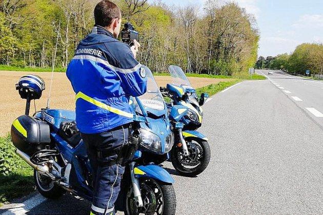 Eure : deux gros excès de vitesse en quelques heures