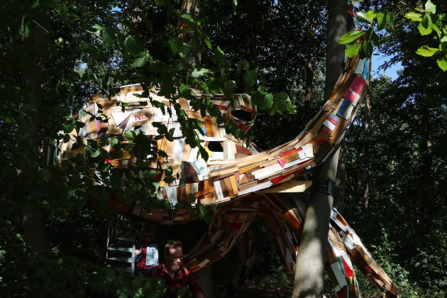 [Photos] Découvrez les œuvres de la forêt monumentale, près de Rouen