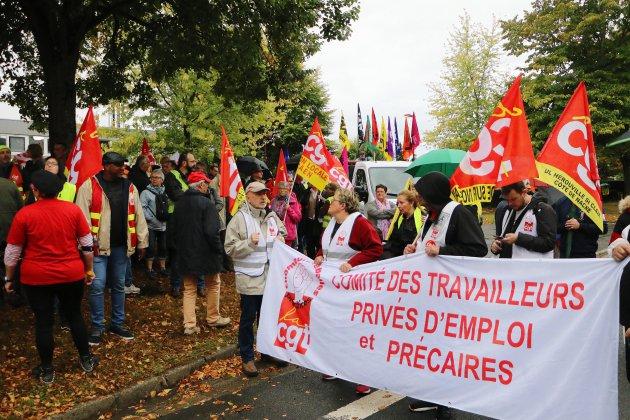Réforme des retraites: presque 1000 manifestants à Caen