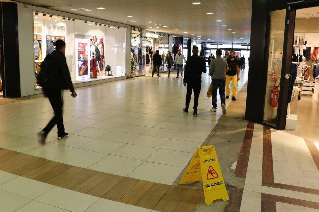 Rouen: le centre commercial Saint-Sever poursuit sa transformation