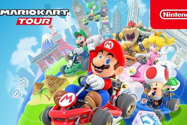 Mario Kart est disponible sur smartphone!