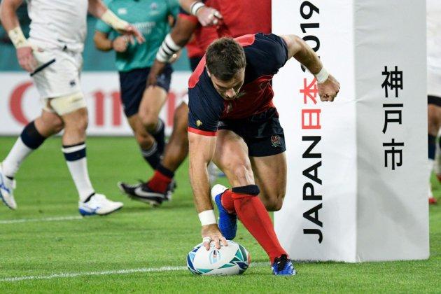 Mondial de rugby: l'Angleterre fait le plein face aux Etats-Unis