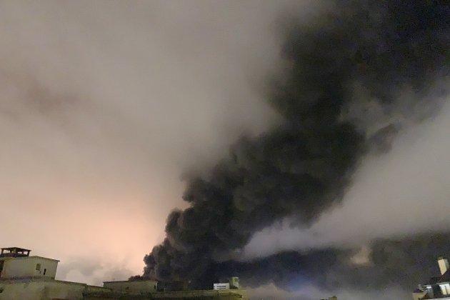 Lubrizol: les pompiers toujours mobilisés, les analyses se poursuivent