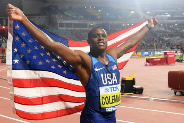 Mondiaux d'athlétisme: nouveau roi du 100 m, Coleman sort de la brume