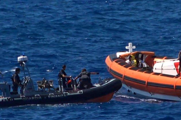 Méditerranée: 80 migrants arrivés dimanche à Lampedusa