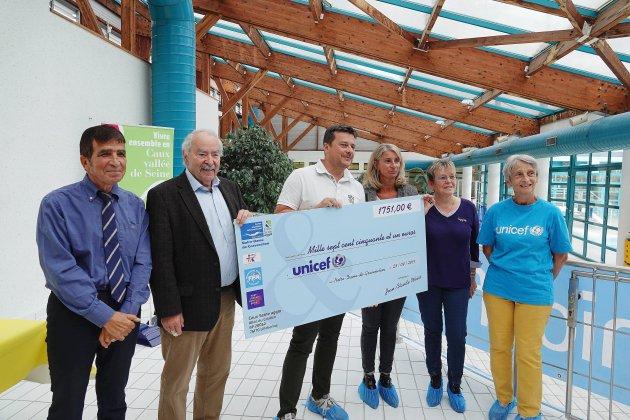 Nuit de l'eau à Gravenchon: des fonds pour l'UNICEF