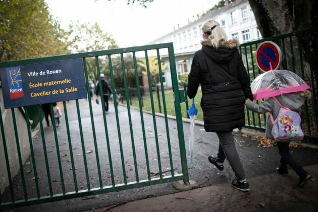 Incendie de Rouen: retour compliqué dans les salles de classe