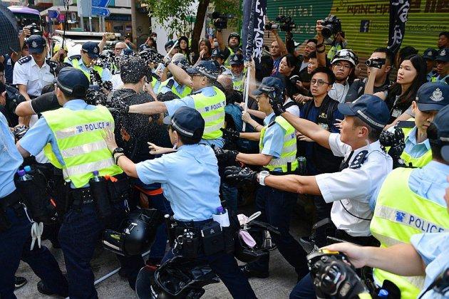 Sécurité renforcée à Hong Kong pour le 70e anniversaire de la Chine populaire