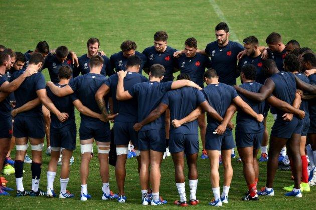 Mondial de rugby: le XV de France attaque ses trois-dix