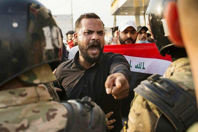 Neuf morts en 24 heures de manifestations en Irak