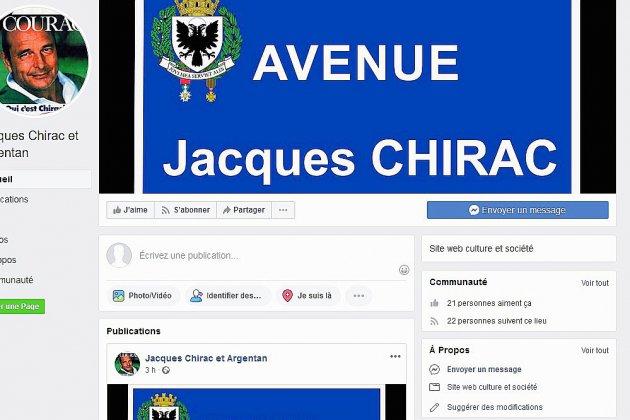 Une avenue Jacques Chirac à Argentan… ?