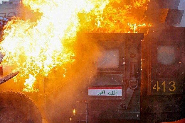 Nouvelles manifestations en Irak où Internet est coupé