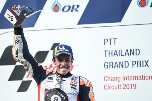 MotoGP: 6e titre pour Marc Marquez après un nouveau duel avec Quartararo en Thaïlande