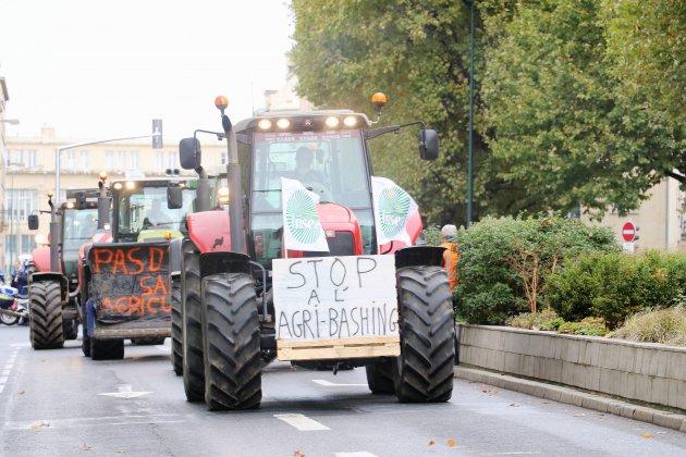 """Les agriculteurs du Calvados rassemblés pour dire """"stop à l'agribashing"""""""
