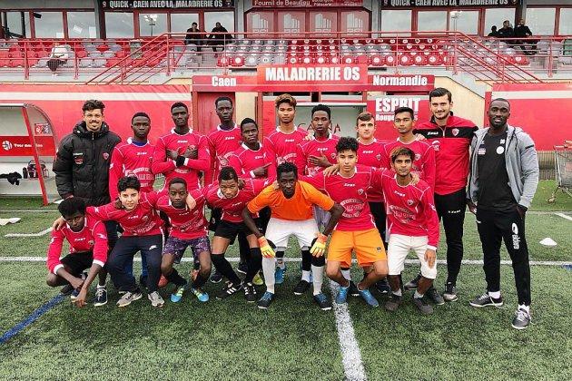Caen. Le club de foot de la MOS accueille les mineurs non accompagnés
