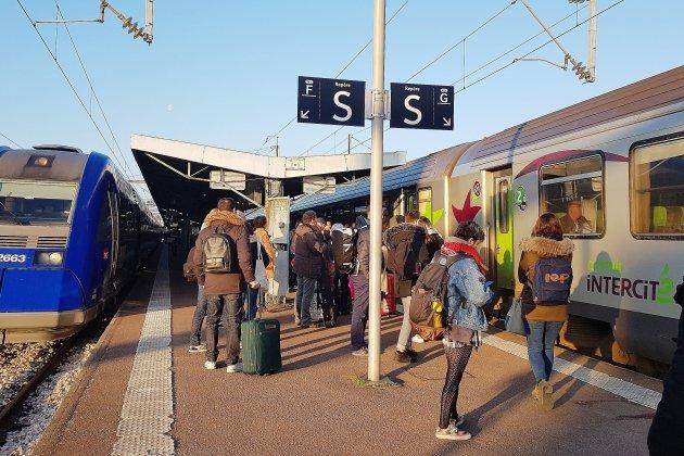 Des perturbations sur la ligne SNCF Rouen-Dieppe