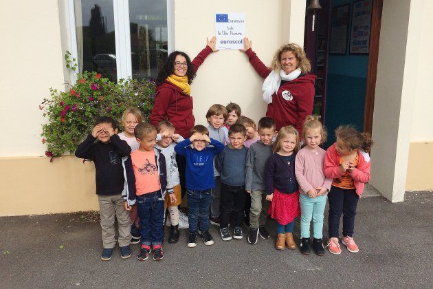 Mannevillette. Seine-Maritime: l'école de Mannevillette aime l'Europe