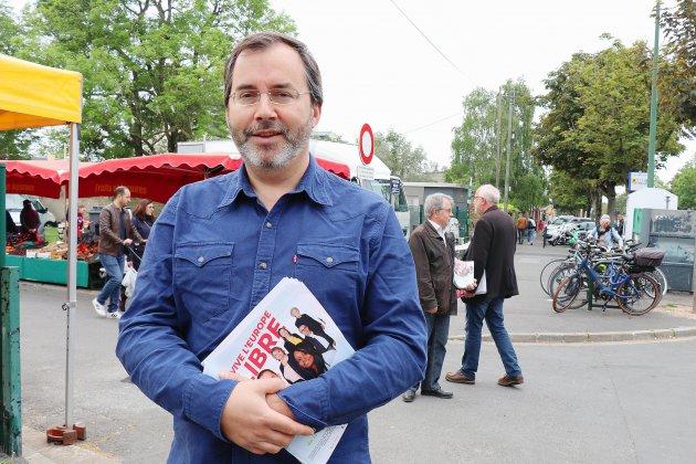 Municipales 2020: Bastien Recher, chef de file de Génération.s Caen