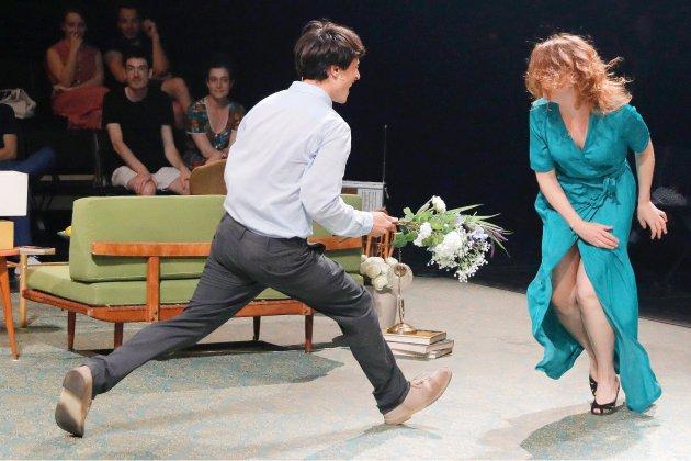Près de Rouen, Lorraine de Sagazan présente unepièce de Tchekhov