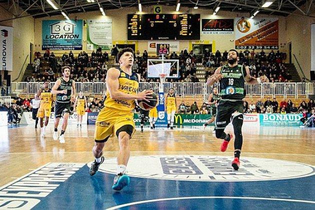 Basket : l'ALM Évreux perd son premier match de championnat