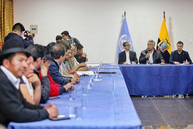 Equateur: gouvernement et indigènes dialoguent pour sortir de la crise