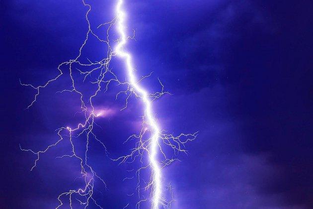 Alerte orange aux orages pour trois départements sur cinq