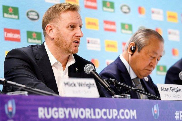 """Mondial de rugby: annuler des matches ? """"La bonne décision"""", selon World Rugby"""