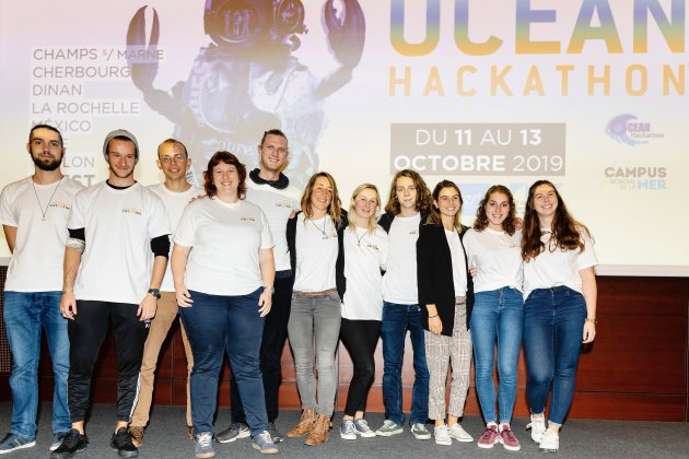 Océan Hackathon : l'application Pech'app en finale