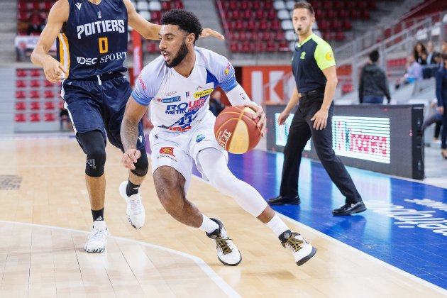 Basket : le Rouen Métropole Basket battu par Vichy-Clermont