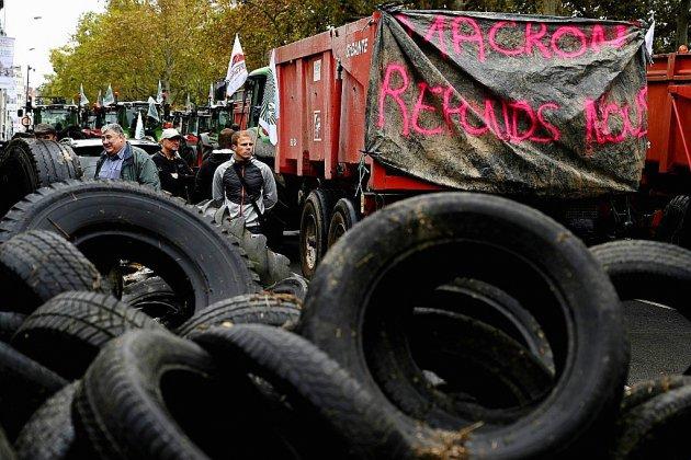 """""""Marre de l'agribashing"""": les paysans en appellent à Macron devant les préfectures"""