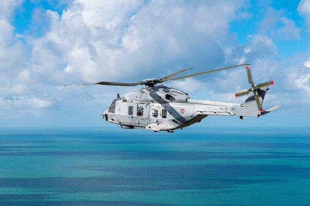 Un marin transporté par hélicoptère à l'hôpital