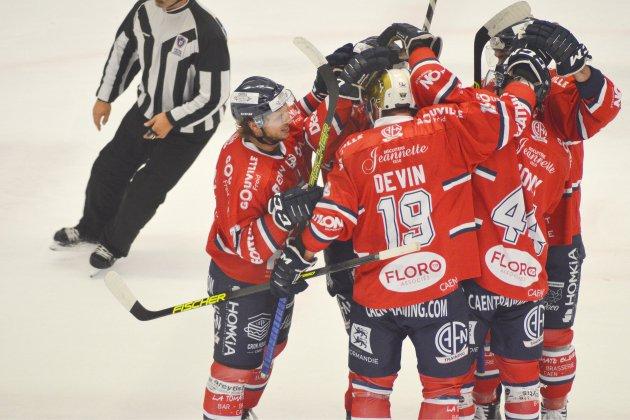 Les Drakkars de Caen en huitième de finale de Coupe de France