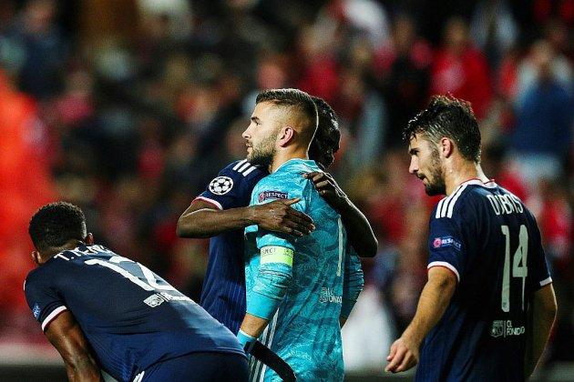 Ligue des champions: Lyon trébuche face au Benfica Lisbonne