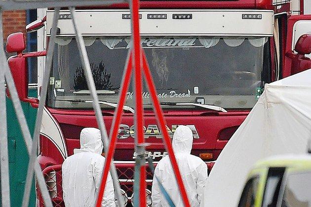 Royaume-Uni: les 39 morts retrouvés dans un camion étaient Chinois