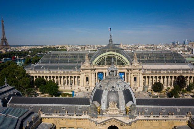 Le Grand Palais vu du ciel, témoin d'une époque disparue