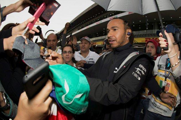 Grand Prix de F1 du Mexique: Hamilton, premier essai pour sixième titre