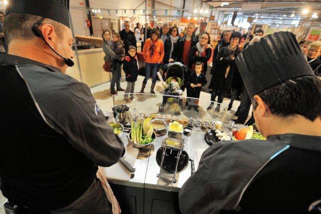 Salon gourmand: à vos papillesau Parc-expo