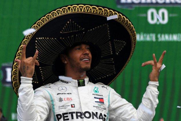 F1: Hamilton vainqueur au Mexique, devra attendre pour le titre