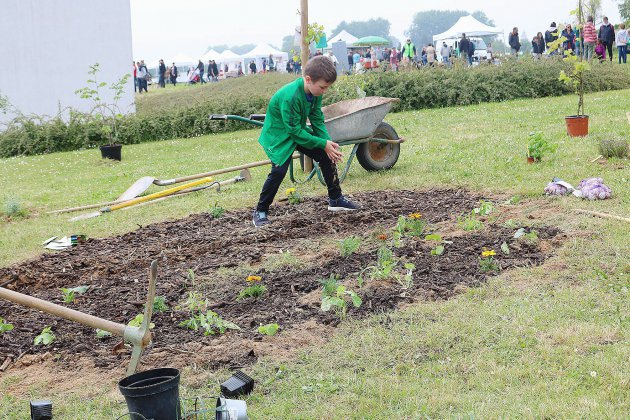 Un jardin participatif pérenne
