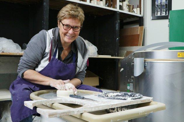 Nathalie Delamare, de l'industrie chimique à la céramique
