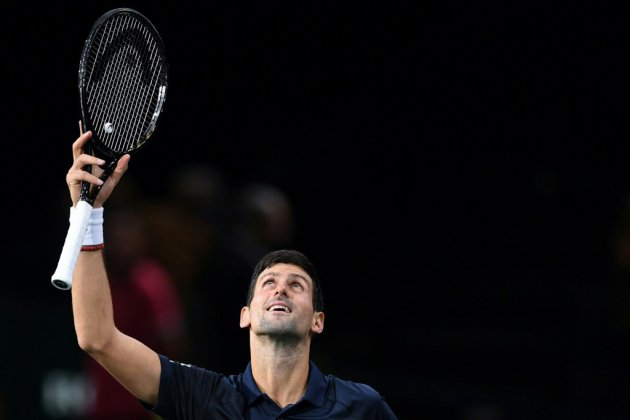 Masters 1000 de Paris: Djokovic s'en sort face à Moutet