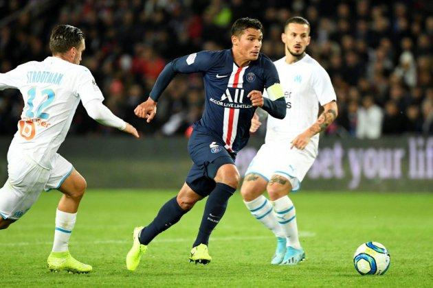 L1: Thiago Silva forfait avec le PSG à Dijon