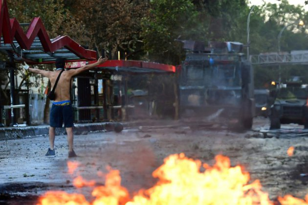 Chili: le président déçoit la gauche, nouvelle manifestation