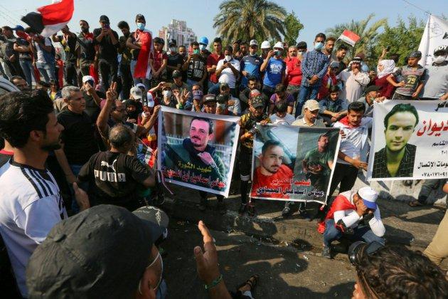 Irak: nouvelles violences nocturnes à Bagdad où la contestation se poursuit